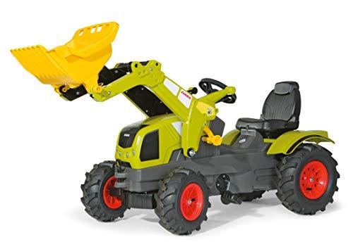 Rolly Toys RollyFarmtrac CLAAS AXOS pedaalvoertuig (voor kinderen vanaf drie jaar, luchtbanden, verstelbare zitting, voor- en achterkoppeling) 611072