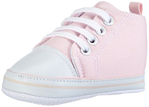 Playshoes Baby Canvas-Turnschuhe, Rosa (rose 14) 19