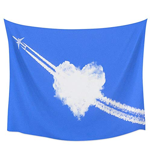 WSSHUIYI Mantas de Franela Bedsure Avión y Nube de corazón Manta de Bebé Unisex Suave y Cómoda Siesta 3D Microfibra Invierno Cálido Sofás Mantas para Cama Edredón de Retazos-XL(180X240CM)