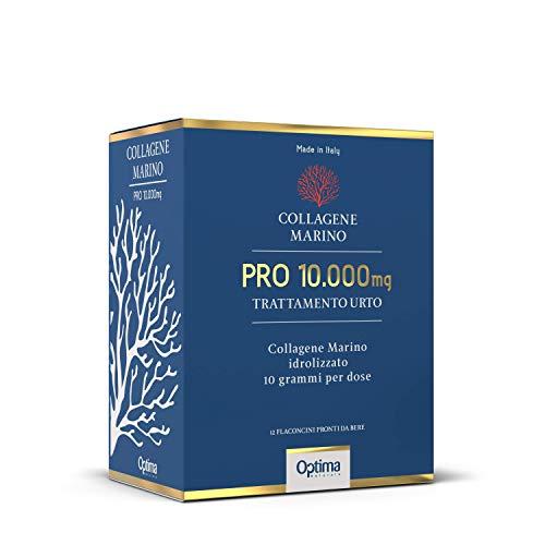 Collagene Marino Pro 10.000 Mg - Trattamento Urto - 12 flaconcini da 50ml