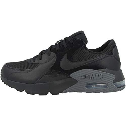 Nike Herren Air Max Excee Sneaker, Black/Black-Dark Grey, 46 EU
