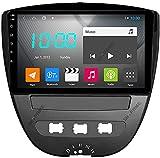Android 10.0 Coche Estéreo Double Din Para Citroen C1 2005-2014 Gps Navigation Navegación De La Cabeza De 9 Pulgadas Pantalla Toucha Pantalla Mp5 Multimedia Pl(Size:Cuatro nucleos,Color:WIFI:4GB+64GB)