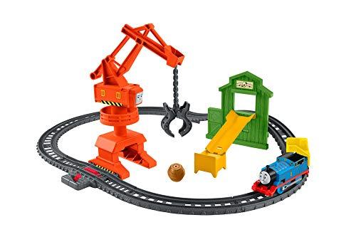 Thomas & Friends Fisher-Price Cassia Crane & Cargo Train Set, GHK83