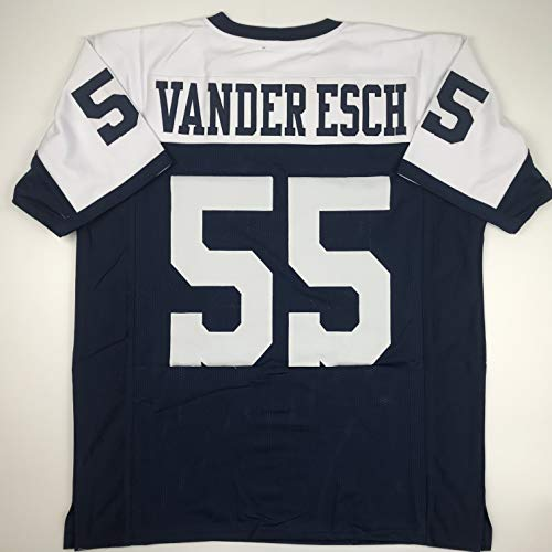 Unsigned Leighton Vander Esch Dallas Thanksgiving Day Custom Stitched Football Jersey Size Men's XL New No Brands/Logos