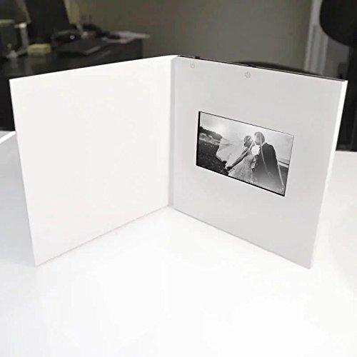 Video-Grußkarte, 10,9 cm (4,3 Zoll) LCD-Chip, Sound Musik, Stimme sprechende Musik