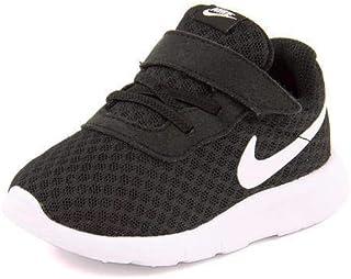 Boy's Tanjun (TDV) Running Shoes (10 M US Toddler, Black/White-White), 10 Toddler