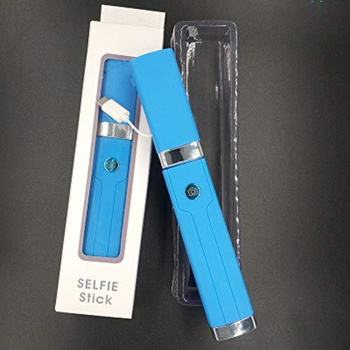 LLKK Selfie Stick,Soporte de Temporizador,Adecuado para Temporizador con Control de Cable de Cabeza Plana,Puede Tomar fotografías (Compre uno y obtenga uno Gratis,Colores aleatorios)
