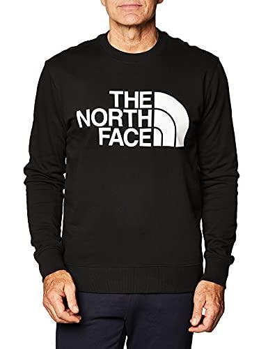 The North Face Men's Standard Crew Pullover, Black, M Uomo