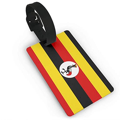 shenguang Flag of Uganda Luggage Bag Tags Travel Tags Travel ID Tag