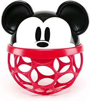 Bright Starts Disney Baby Minnie Mouse Rattle Along Buddy Easy Grasp Toy Ages Newborn product image