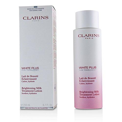 Clarins WHITE PLUS LAIT BEAUTE ECLAIRCISSANTE 200ML, Zapatillas Unisex adulto, Negro, Una talla