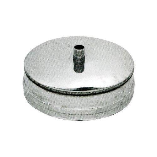 Open Plug ANTI pour poêle à pellets ACIER INOX304 Ø12 cm
