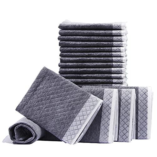 NCONCO Pack de 50 almohadillas desechables superabsorbentes para perros y cachorros, 60 x 45 cm