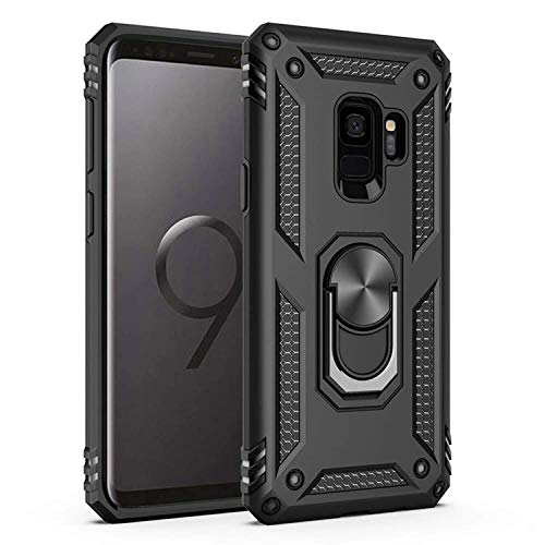 professional Samsung Galaxy S9 Case, Amuoc [ Military Grade ] 15 feet. Drop-tested protective cover | Stand |…