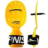Finis Bolster Hand Paddle, Yellow, one Size -