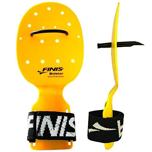 FINIS Bolster - Aletas de natación, color amarillo