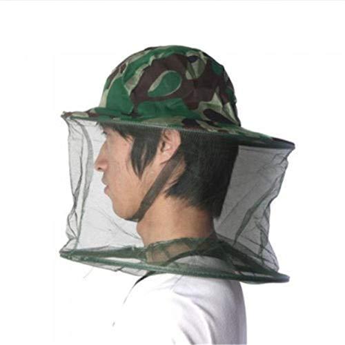 banbie8409 Bienenzucht Hut im Freien Tarnkappe im Freien Anti-Moskito-Biene Hut Buschhut Angeln Sonnenschutz