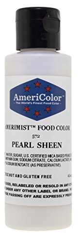 AmeriColor AmeriMist Pearl Sheen Airbrush Food Color, 4.5 ounce