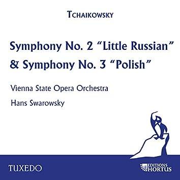 """Tchaikowsky: Symphony No. 2 """"Little Russian"""" & Symphony No. 3 """"Polish"""""""