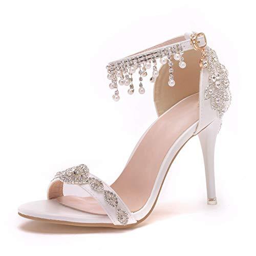 Zapatos De Boda, Zapatos De Novia Y Dama De Honor Sandalias con...