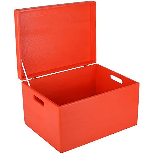 Boîte de rangement bois