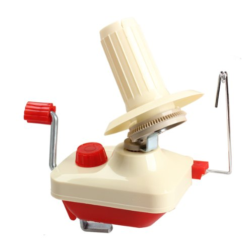 Diamondo Hand-Operated Manual Wool Yarn Ball Winder Holder for Knitting Handcraft