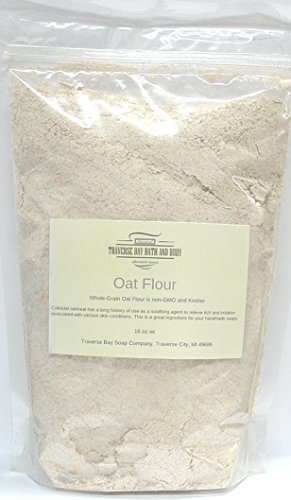 Colloidal oatmeal (oat flour), 32 oz Great for soap making