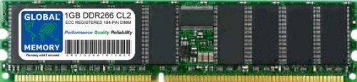 1 GB DDR266 MHz PC2100 184 Pines ECC REGISTADO DIMM (RDIMM) Memory...