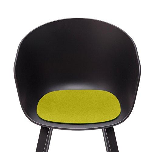 Coussin About a Chair antirutsch, feutrine, vert, Standard