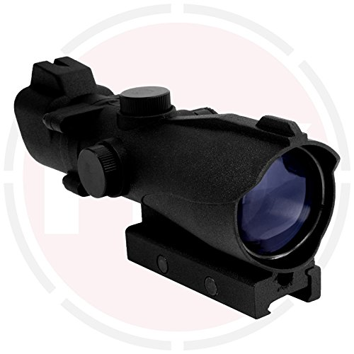 In Your Sights 2x42 Tactical red and green dot sight