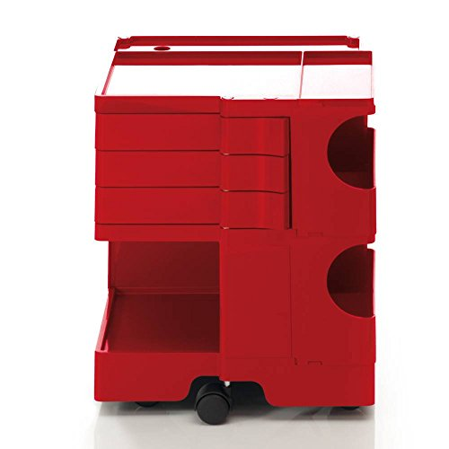 Boby B23 Rollcontainer Rot B-Line