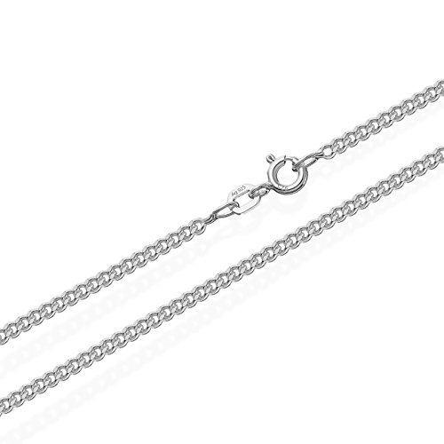 NKlaus 925 Sterling Silber Kette PANZERKETTE 50cm Königskette 2,10mm Breit 5,6gr 1816