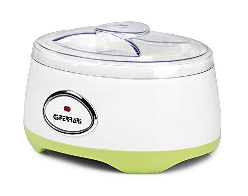 G3Ferrari G10052 Yogurtiera, 1 Liter, Plastic, Bianco
