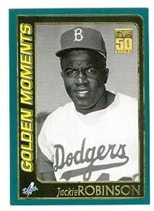 Jackie Robinson Baseball Card (Brooklyn Dodgers) 2001 Topps #783 Breaks the Color Barrier
