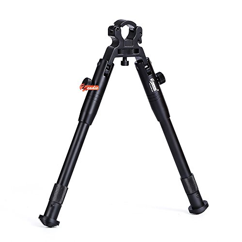Zeadio Quick-Detachable Foldable Bipod with Built-in Clamp for Rifle Air...