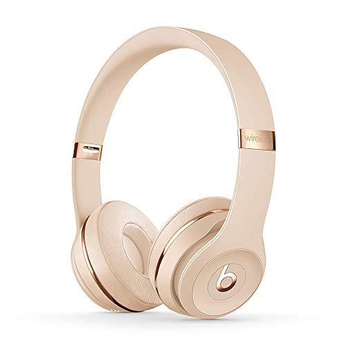 BeatsSolo3Kabellose Bluetooth On-EarKopfhörer– AppleW1Chip, Bluetooth der Klasse1, 40Stunden Wiedergabe– Satin Gold