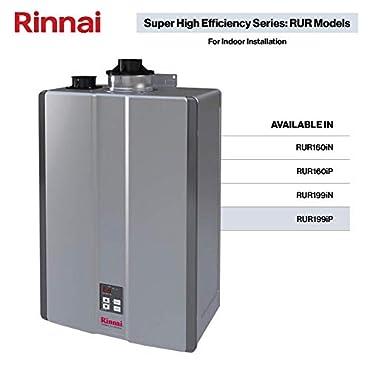 Rinnai RUR199iP Sensei SE 199,000 BTU Tankless Hot Water Heater