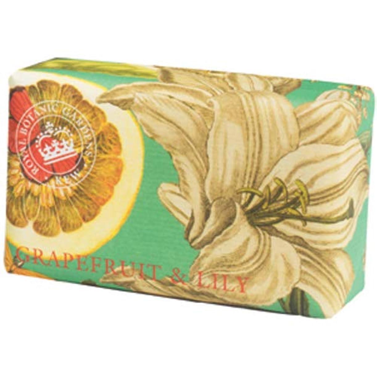 追加補充代わってEnglish Soap Company イングリッシュソープカンパニー KEW GARDEN キュー?ガーデン Luxury Shea Soaps シアソープ Grapefruit & Lily グレープフルーツ&リリー