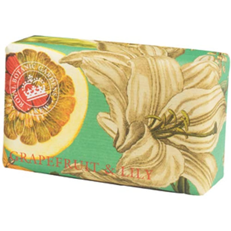English Soap Company イングリッシュソープカンパニー KEW GARDEN キュー?ガーデン Luxury Shea Soaps シアソープ Grapefruit & Lily グレープフルーツ&リリー