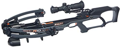 Ravin R10 Crossbow Package R011 With Illuminated 1.5-5x32mm Scope, Gunmetal Gray