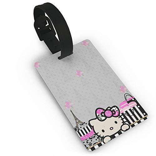WSXEDC Etiquetas para Equipaje diseño de Hello Kitty en París