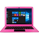IDOL Laptop 10.1Inch Quad Core Ultra Thin PC, 2GB RAM 32GB Storage 1.92GHZ USB 2.0 Windows 10 HD Graphics WiFi, HDMI, BT, Supports 128GB TF-Card Notebook Computer (Pink)