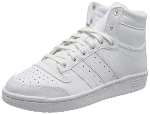 Adidas Top Ten, Sneaker Hombre, Blanco/Blanco Carbón, 37 1/3 EU