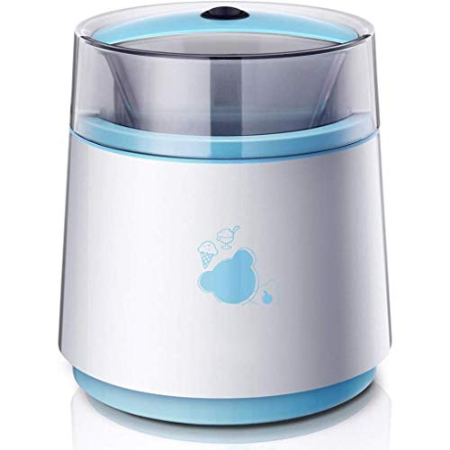 YHLZ Ice Cream Maker, Automatic Kid's Mini Fruit Ice Cream Maker -800 ML | DIY Frozen Yogurt And Sorbet Machine, Double Insulation Silent Design - Best Gift