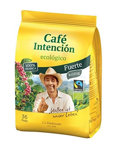 Café Intención ecológico Fuerte Kaffee- Pads 36 Stück - Bio