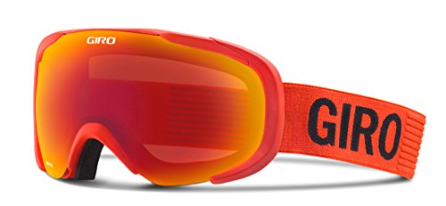 Giro Compass Snow Goggle 2016 - Men's Glowing Red Monotone with Amber Scarlet Lens