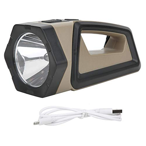 SALUTUYA Ligero, portátil, multifunción, Alto Brillo, LED COB, lámpara de Mano de Carga, Impermeable, Chip de luz P50 para Trabajo, Emergencia, iluminación del hogar, Lectura