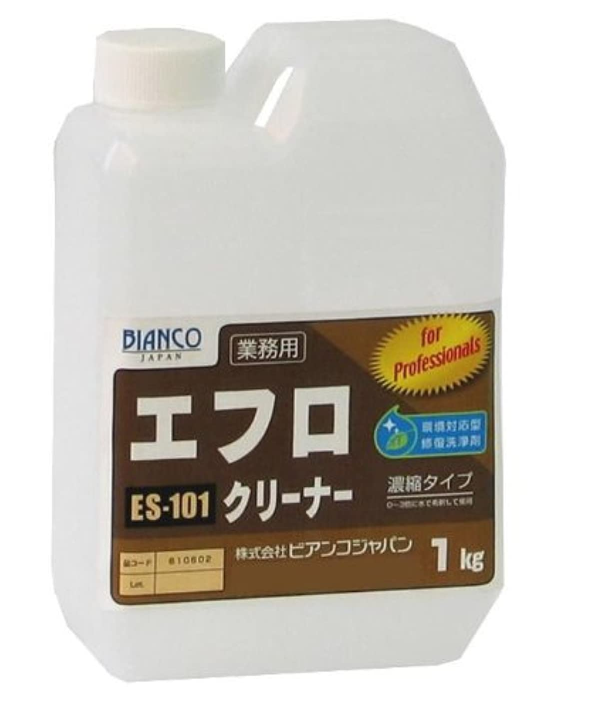 プラグ先に息苦しいビアンコジャパン(BIANCO JAPAN) エフロクリーナー ポリ容器 1kg ES-101
