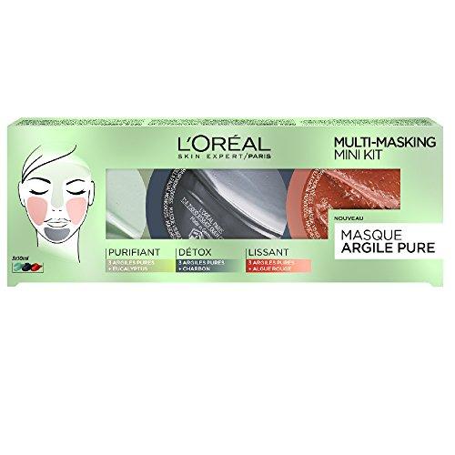 L'Oréal Paris Coffret Argile Pure Multi-Masque 3 x 10 ml
