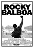 Rocky Balboa - Sylvester Stallone – Movie Wall Art Poster